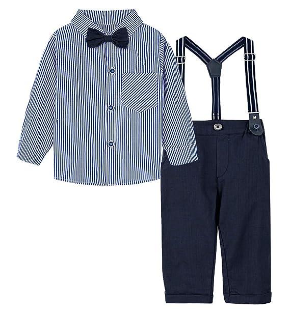 A&J DESIGN Conjuntos para Bebé Niños Camisa y Pantalones ...