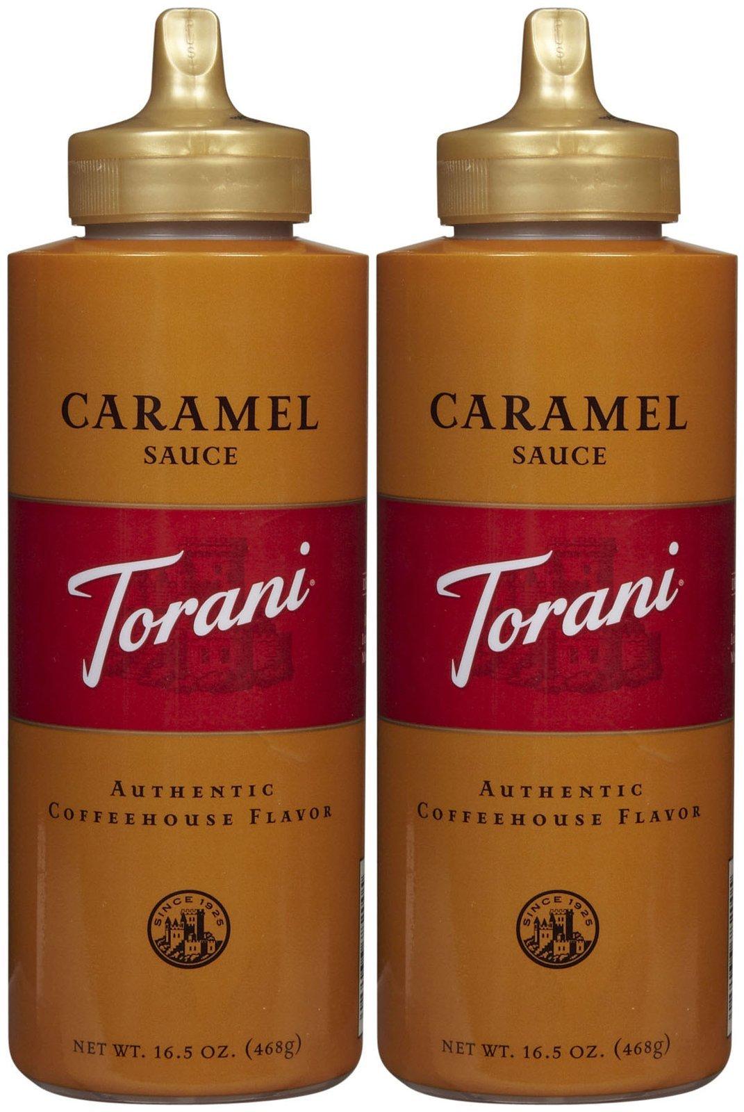 Torani Original Caramel Mocha Sauce, 16.5 oz, 2 pk