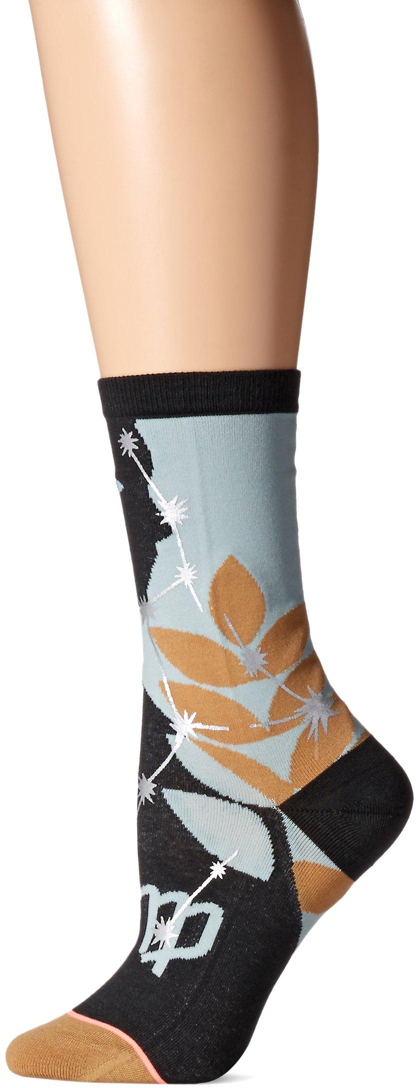 Stance Women's Virgo Zodiak Crew Sock, Multi, Small by Stance (Image #1)