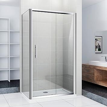 Mampara de ducha puerta de ducha Ducha Pared Puerta Corredera, 110 x 70 x 185 cm (ns4 – 11 + NS3 – 70): Amazon.es: Bricolaje y herramientas