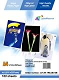 LabelOcean 100 hojas papel premium para foto A4 230 g / hojas qm brillante impermeable