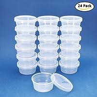 Benecreat Lot mixte de 27boîtes de rangements rectangulaires en plastique avec couvercles pour pilules, herbes, perles, bijoux et autres petits articles