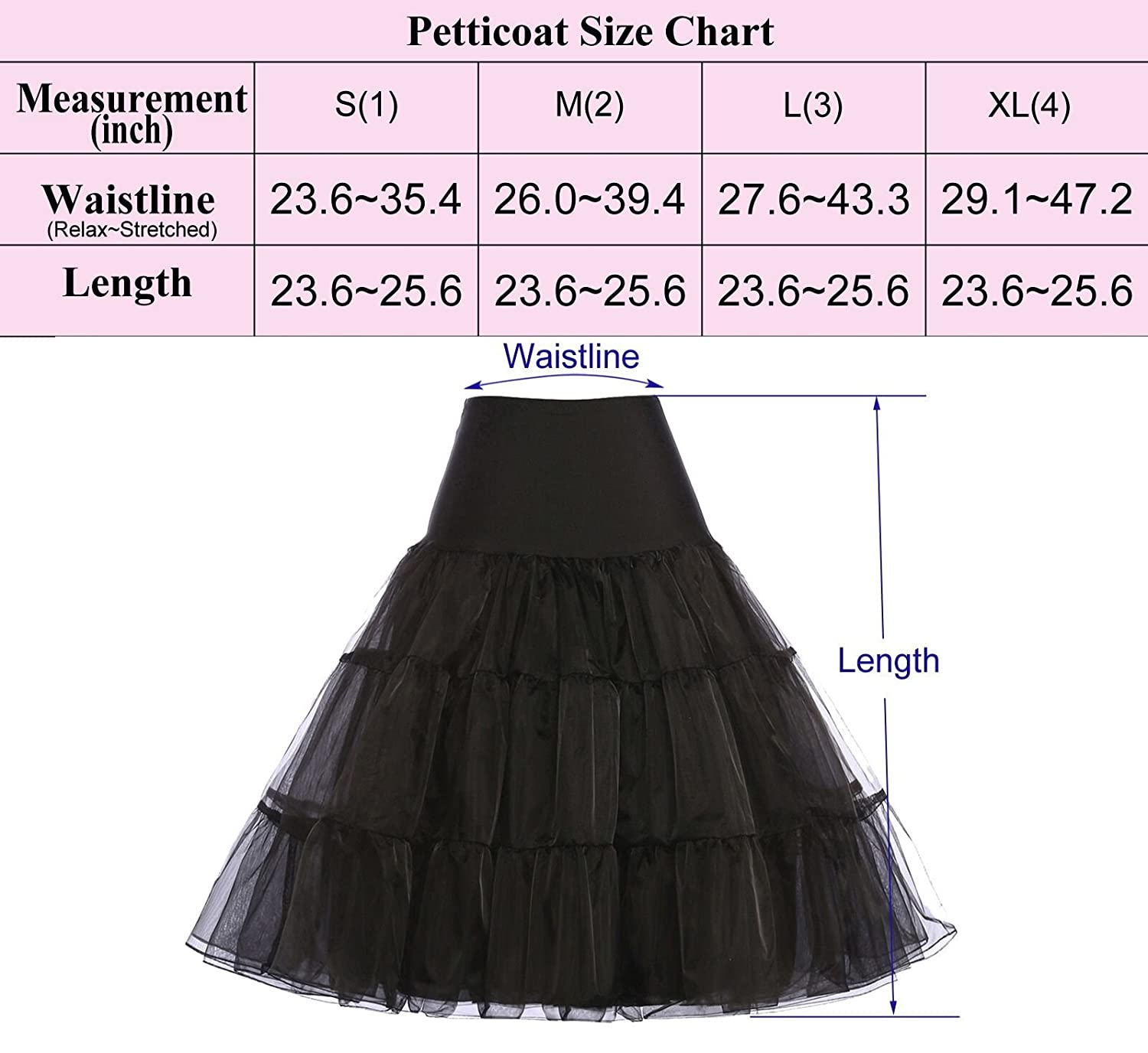 Wedding Plus Size Petticoat grace karin women 50s petticoat skirts tutu crinoline underskirt cl8922 at amazon womens clothing store