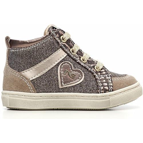 Nero Giardini Junior Sneaker Primi Passi Bambina in Camoscio Tessuto  Glitter A621750F - 428  Amazon.it  Scarpe e borse 6307cff0699