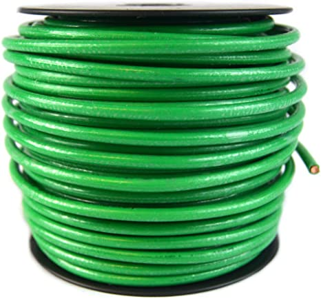 GROUND WIRE STRANDED BARE COPPER 10 AWG 100/' Reel  Jewelry Crafts Grounding USA