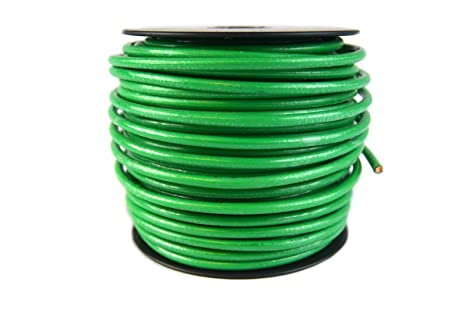 Amazon wrgnd100 copper ground wire 10 gauge 100 ft electronics wrgnd100 copper ground wire 10 gauge 100 ft greentooth Images