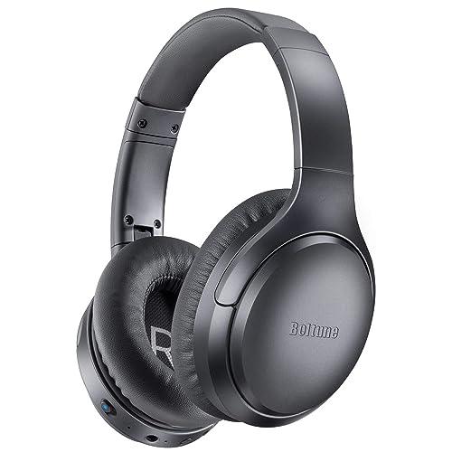 5. Boltune Active Noise Cancelling Headphones,