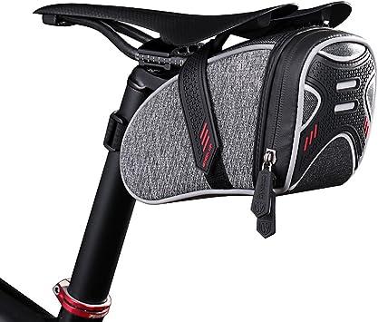 Docooler 19 * 11 * 10.5 cm Bolsa de Sillín de Bicicleta, Bolsa ...