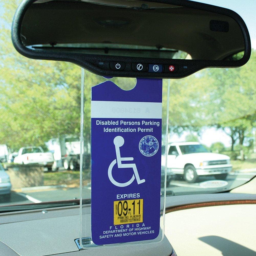 Amazon.com: Handicap Permit Placard Protective Holder Set of 2 ...