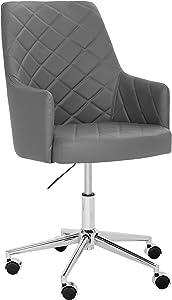 Sunpan Modern Chase Office Chair, Graphite