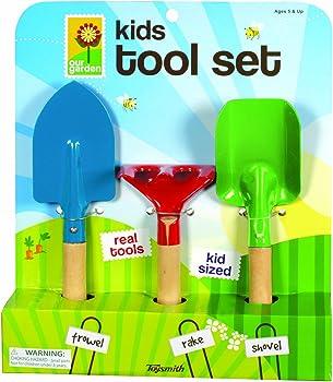 Toysmith Kid's 3-Piece Gardening Tools