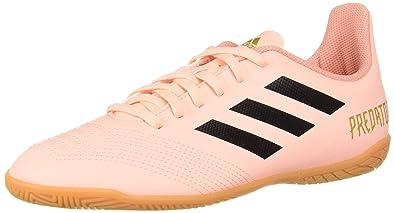 d49355e90 adidas Unisex Predator Tango 18.4 Indoor Soccer Shoe, Clear  Orange/Black/Gold Metallic