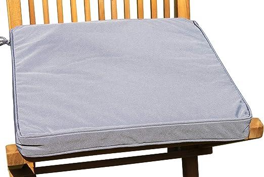 Muebles de Jardín de Fregadero – Cojín para sillas de jardín en Gris Claro: Amazon.es: Jardín
