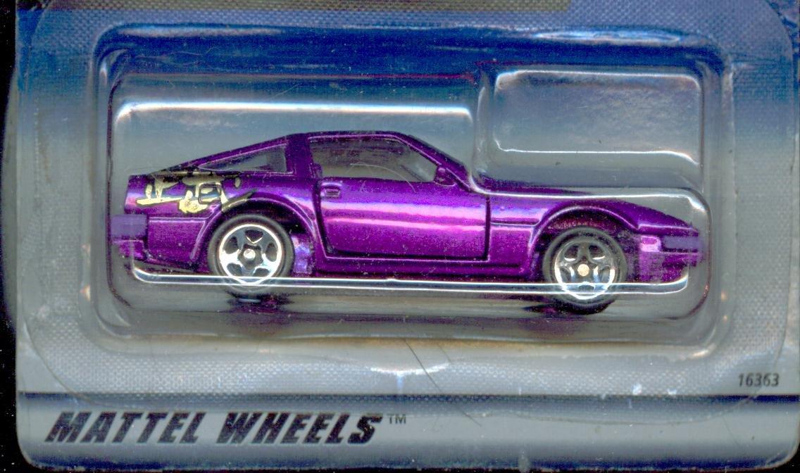 Hot Wheels 1998-506 Nissan 300zx 1:64 Scale MATTEL