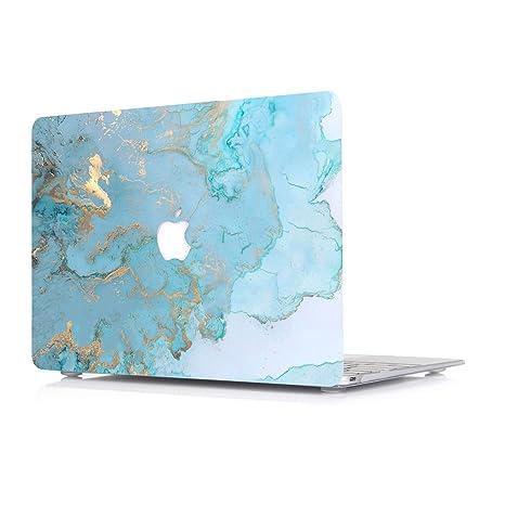 L2W Funda Dura para Apple MacBook Air 13,3 Pulgadas 2018 ...