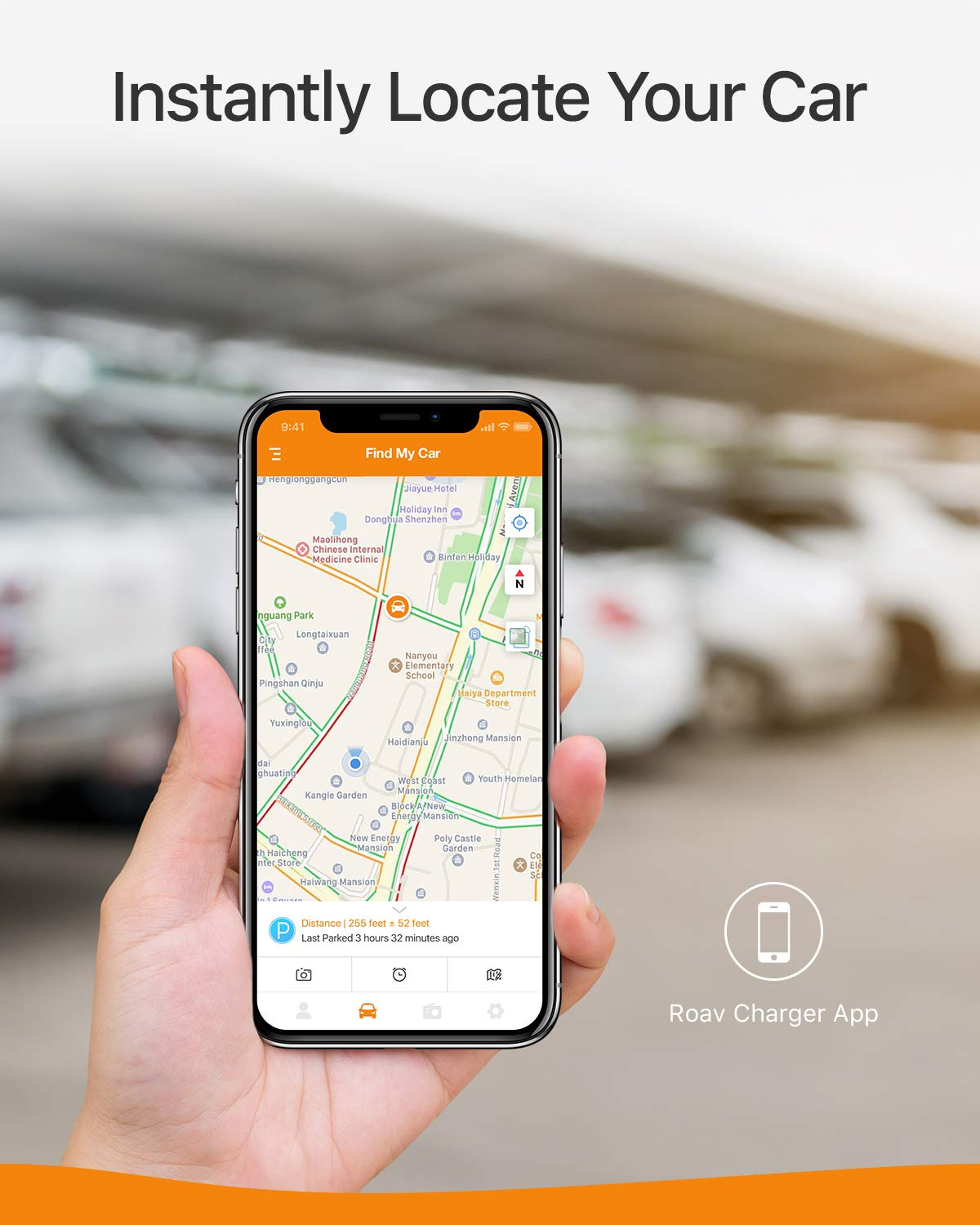 Roav SmartCharge F2, by Anker, FM Transmitter, Bluetooth Receiver, Car Charger with Bluetooth 4.2, Car Locator, App Support, 2 USB Ports, PowerIQ, AUX Output, and USB Drive to Play MP3 Files by ROAV (Image #2)