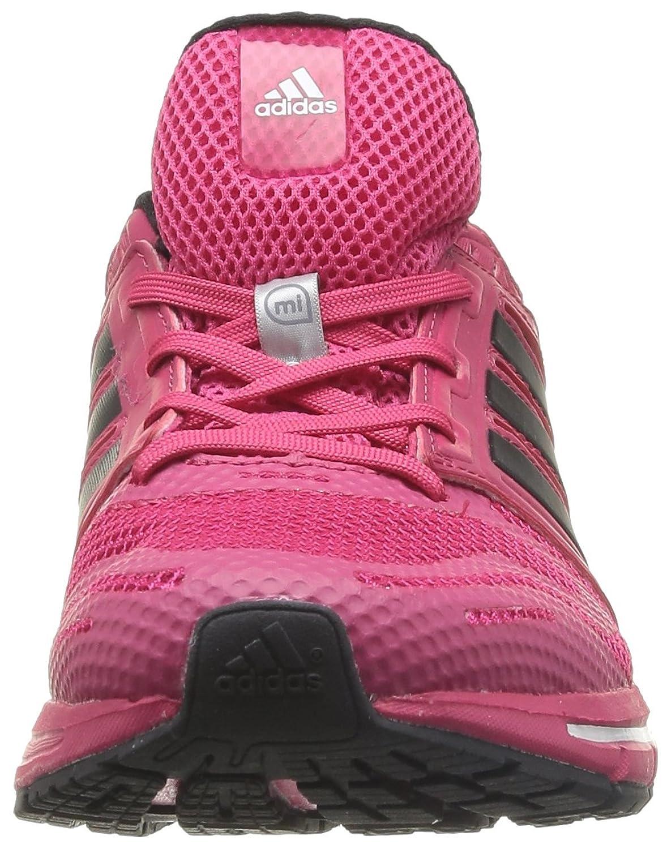 adidasRevenge Mesh W - Zapatillas de Running Mujer, Rosa (Rose (Fravif/Noir1/Blanc)), 40