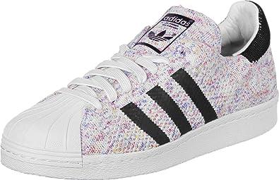 adidas Originals Chaussures Sportswear Homme  Superstar 80s Pk Noir et blanc - Chaussures Baskets basses