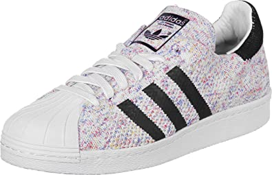 adidas Superstar 80's Primeknit Homme Baskets Mode Blanc: Amazon.fr: Chaussures et Sacs