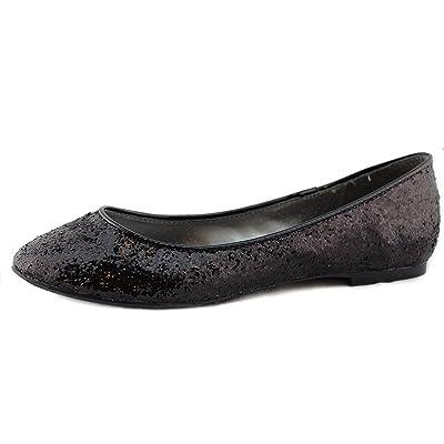 Breckelle's CHERRY-04 Metallic Glitter Slip On Basic Classic Ballet Flat | Flats