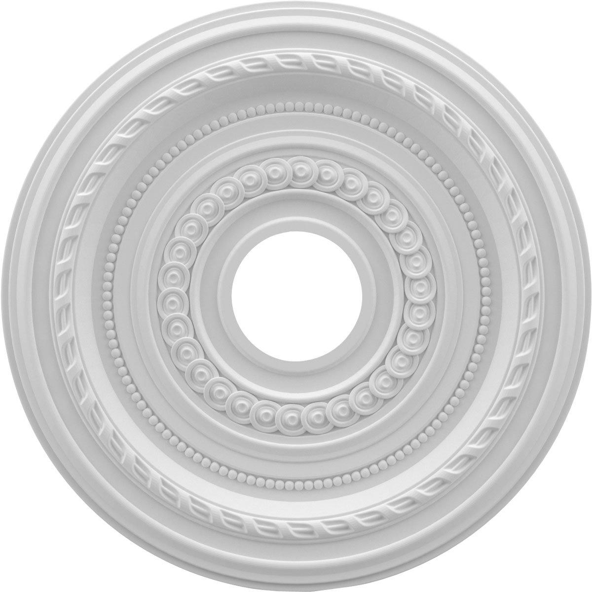 Ekena CMP16CO Ceiling Medallion, Primed White, 16' OD x 3 1/2' ID x 1' P 16 OD x 3 1/2 ID x 1 P Ekena Millwork