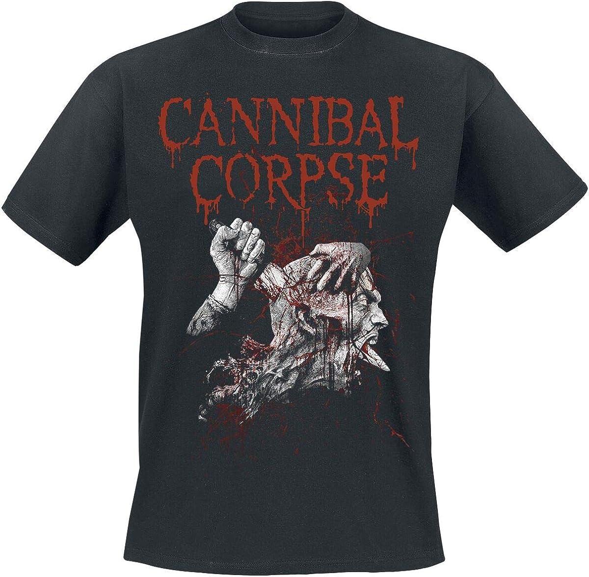 Noir Official Cannibal Corpse Stabhead T Shirt