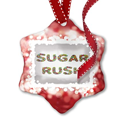 Amazon com: NEONBLOND Christmas Ornament Sugar Rush Colorful