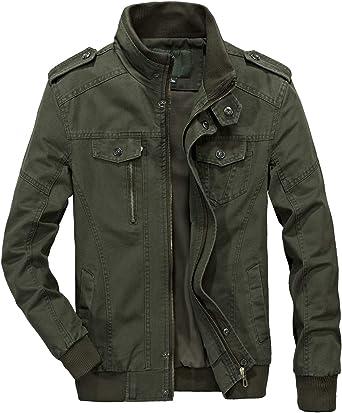 Essentials Mens Lightweight Bomber Jacket