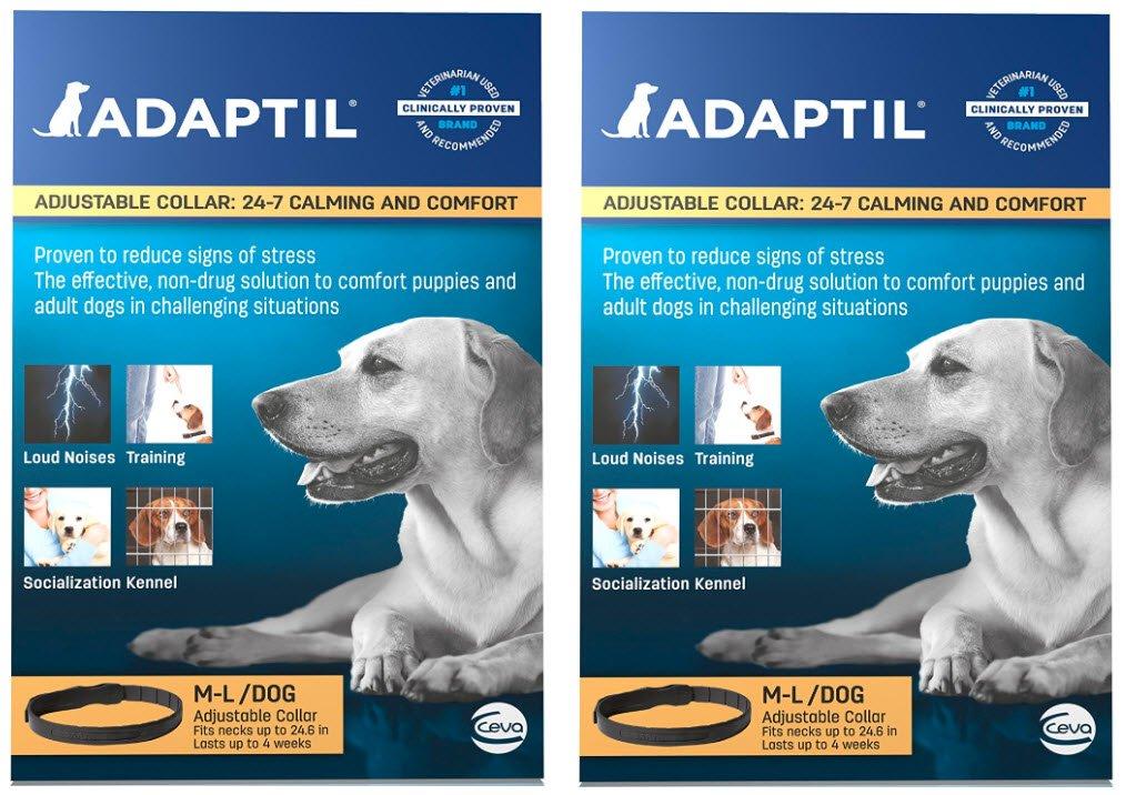Adaptil Large Dog Collar, 27.6'' (2-Pack)