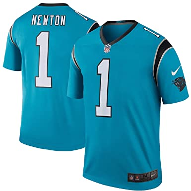 competitive price ab563 b0691 Amazon.com: NIKE Cam Newton Carolina Panthers Color Rush ...