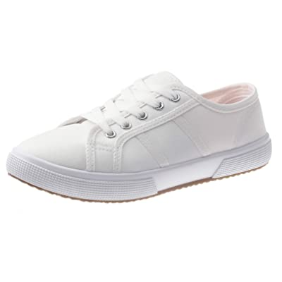 SelfieGo Women Canvas Sneakers Casual Shoes Lace up Comfortable Footwear for Girls Walking | Fashion Sneakers