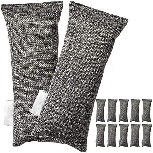 K-ONE 12 Paquetes de Cada Mini Bolsas de carbón de bambú ...