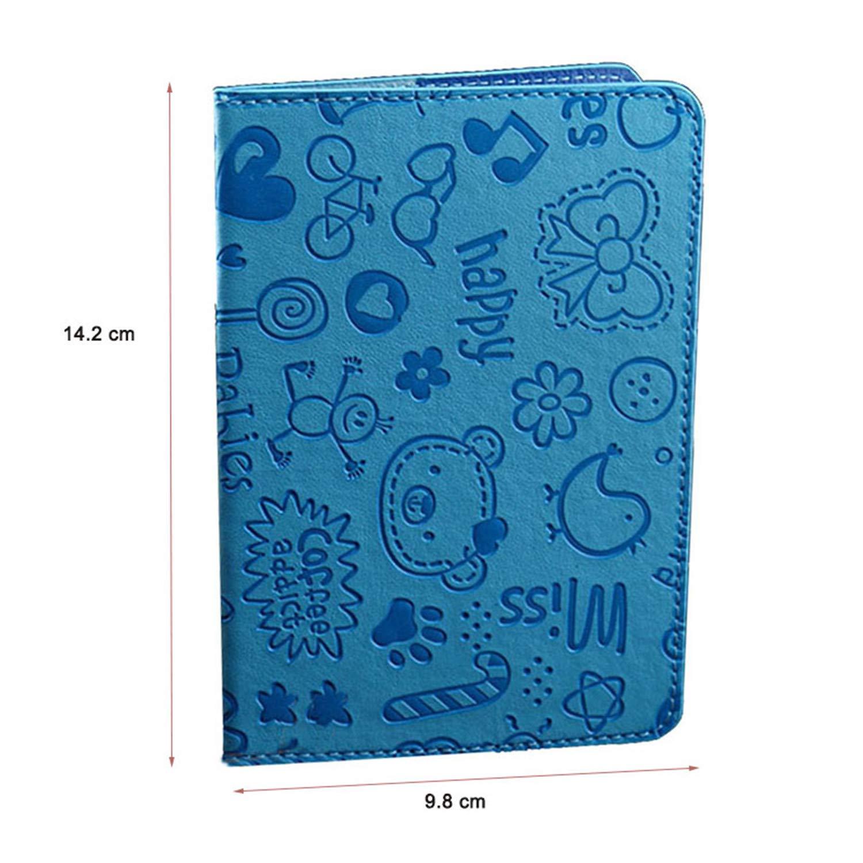 Amazon.com: Fafalisa - Tarjetero para pasaporte, diseño de ...