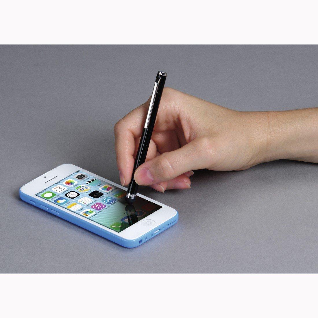 Eingabestift Easy f/ür Tablets und Smartphones Schwarz