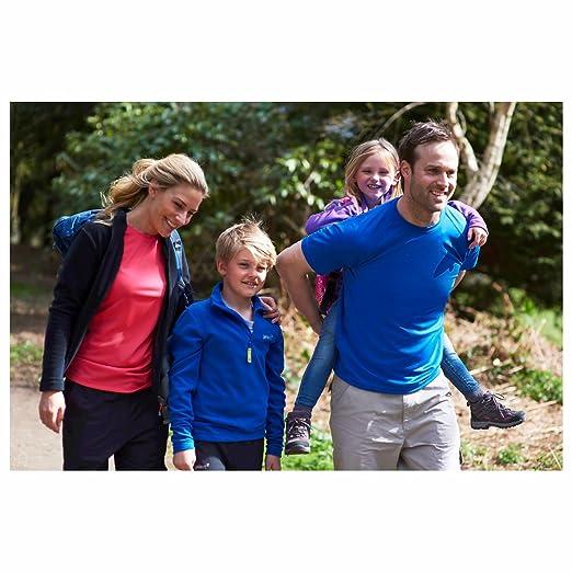 Gelert Kids Boys Atlantis Fleece Quarter Zip Top Sweatshirt Jumper Long Sleeve