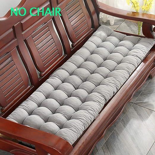 morbido cuscino per 2-3 posti Yuly Cuscino spesso per panca da giardino per mobili da patio o panchine da pranzo comodo cuscino per sedia da giardino