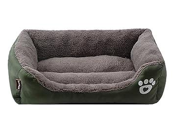 SK Studio Cama de Mascota, Cama de Perro Cama para Gato Pequeño/Mediano/Grande Lavable Sofá para Perros Almohada para Perros Verano e Invierno: Amazon.es: ...