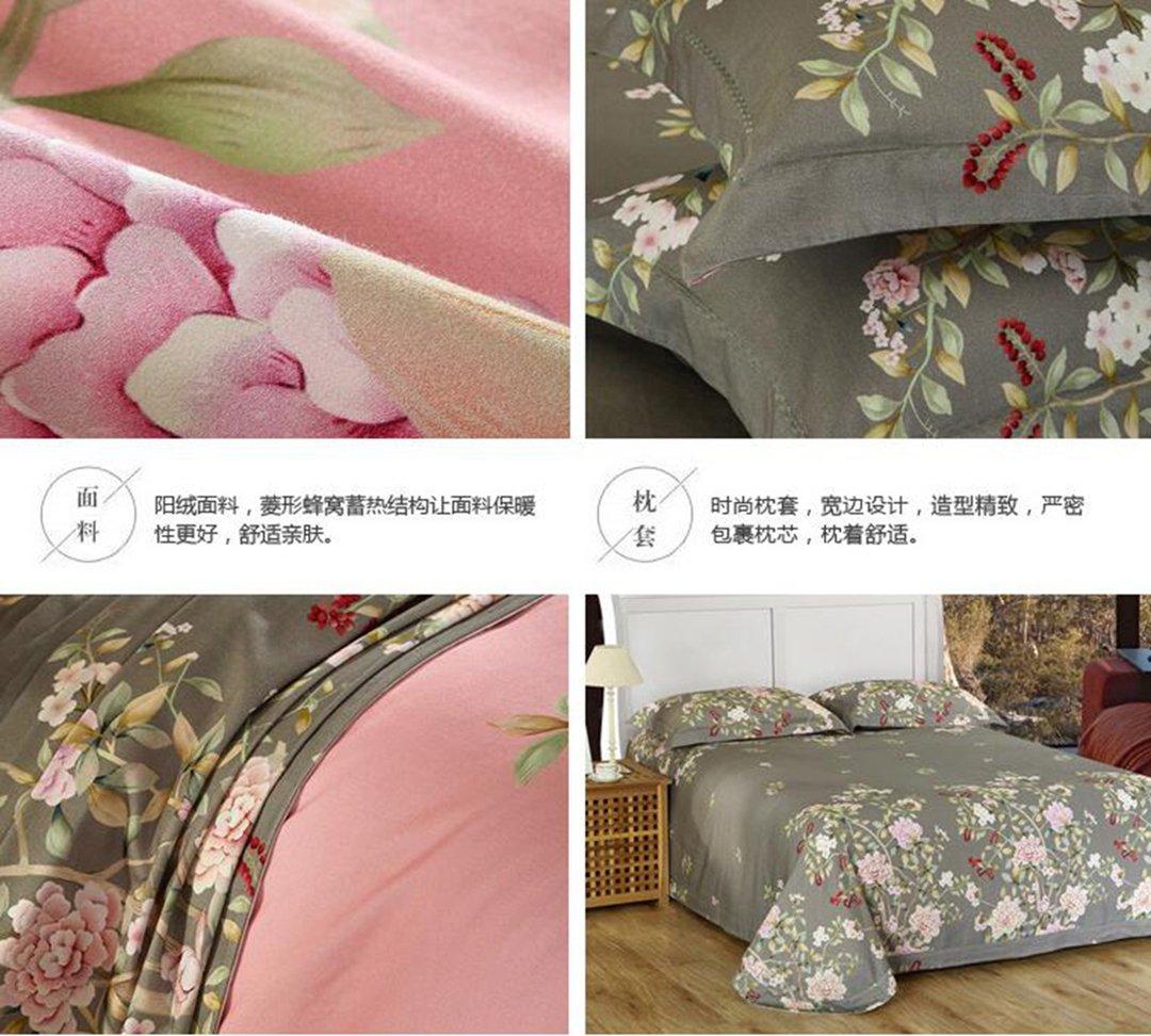JYLW Juego de cama de 4 piezas, creatividad, personalidad, moda, ropa de cama, 1.8, 2 metros cama aplicar estilo de color seleccionado ...