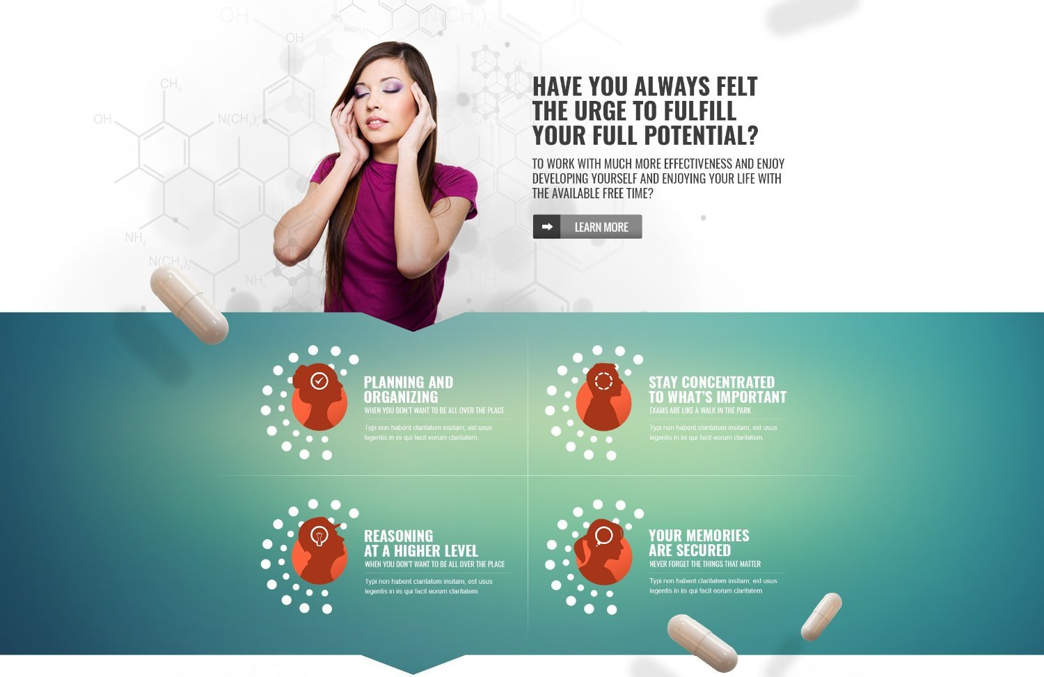 Paneuromix® - The Most Complete Nootropic - with i.a. 250 mg Alpha-GPC & 200 mg Bacopa Monnieri- The #1 Cognitive Enhancer Available - AKA NZT.2 - It\'s like a Real Life NZT-48 Limitless Pill/ 30 ct