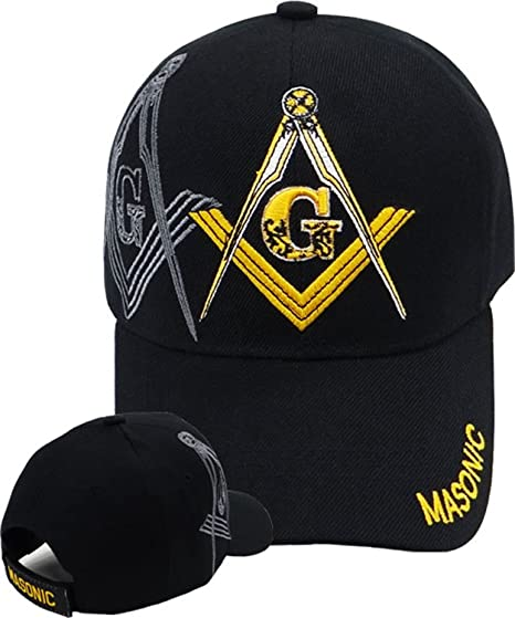 Buy Caps and Hats Masonic Baseball Cap Freemason Mason Hat Mens One ... 27641a73f80