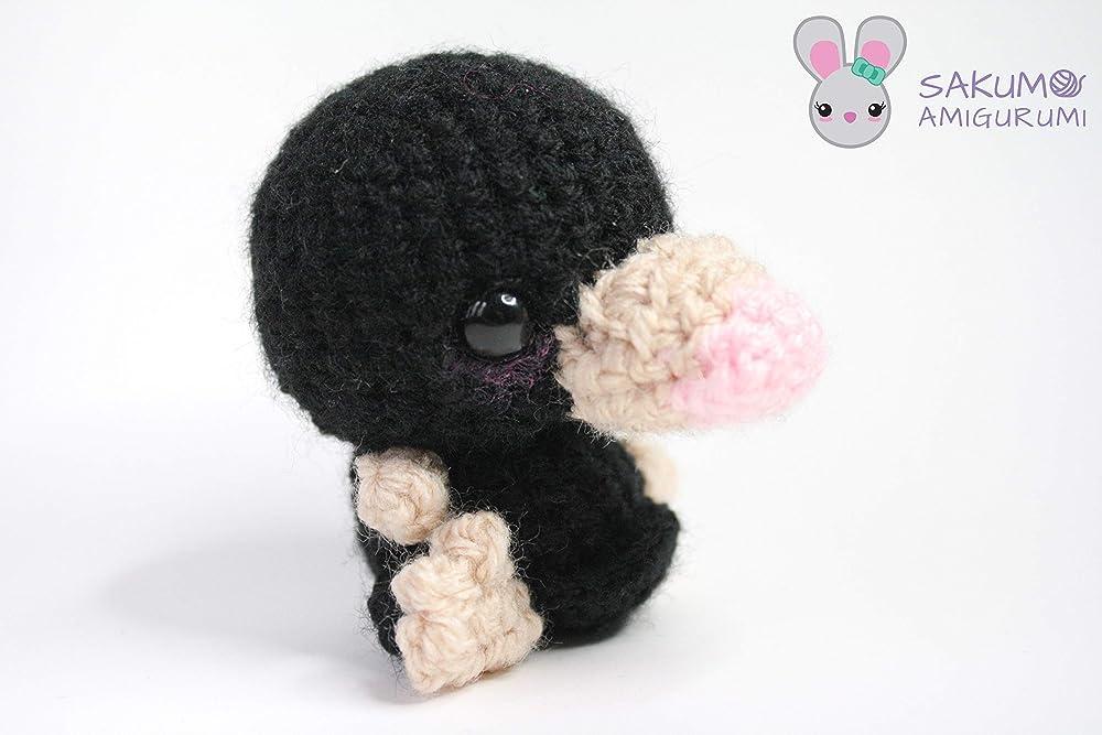 Crochet Niffler Pattern Fantastic Beasts   667x1000