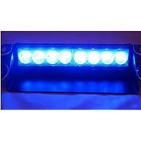 WIVION Auto Strobe-Beleuchtungsstreifen-Kit Knight Night Rider Light Bar 7 Farbe 147 Modi 48 LED-RGB-LED-Blitzlichtblinker-Beleuchtungsstreifen-Kit 12 V