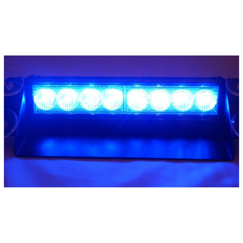 E-db 8 LED Frontblitzer/Straß enrä umer - Auto Warnleuchten Blitzlicht Stand Licht Cargo Truck Strobe Leuchten - 12V (Gelb)