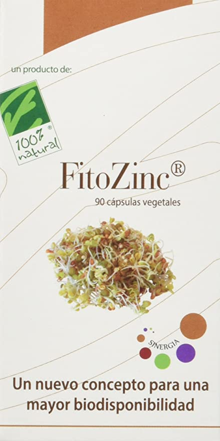100% natural FitoZinc Minerales - 90 Cápsulas: Amazon.es ...