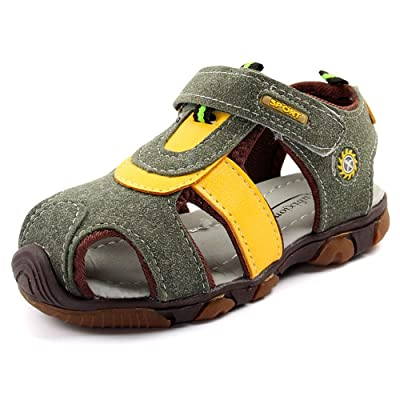 Baby Boys Athletic Outdoor Shoes Close-Toe Sandals(Toddler/Little Kid)