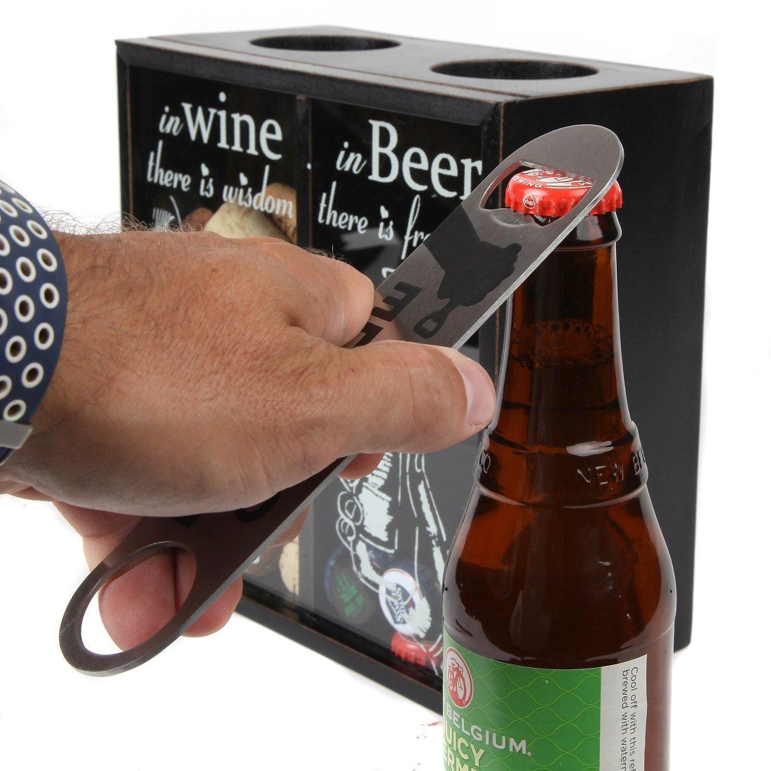 Amazon.com: Lily s Home Vino Titular y la cerveza Cap ...