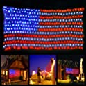 XTF2015 American Flag Led String Lights