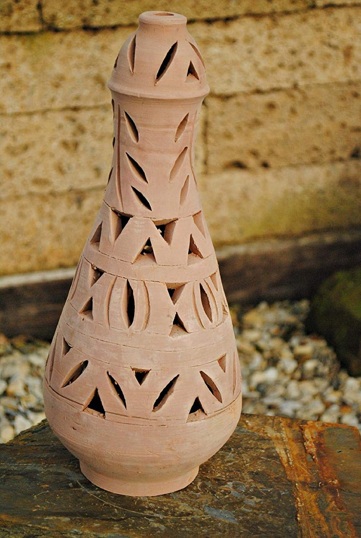 Windlicht aus Keramik,tunesische Handarbeit,ca.40cm hoch