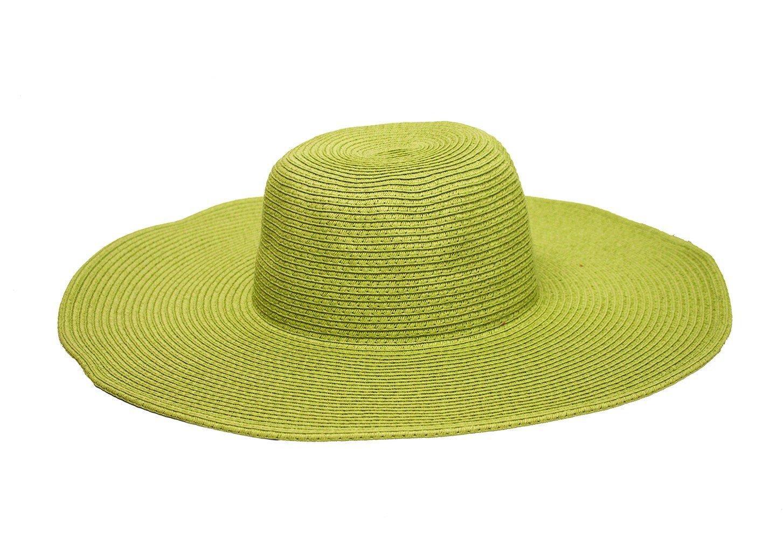 Goldcoast 100534626 Womens Ashley Hat Light Green, White