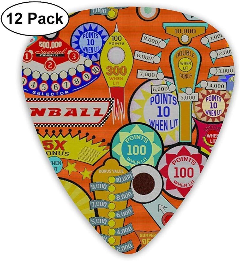 Pinball de dibujos animados Orange Picks de guitarra Rock Band Mix ...